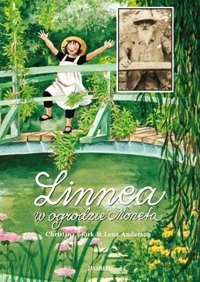 Okładka książki Linnea w ogrodzie Moneta