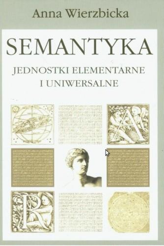 Okładka książki Semantyka. Jednostki elementarne i uniwersalne