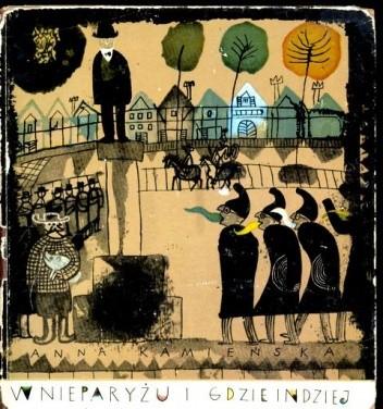 Okładka książki W nieparyżu i gdzie indziej