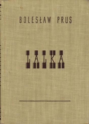 Okładka książki Lalka t. I