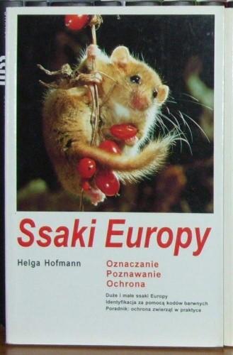 Okładka książki Ssaki Europy