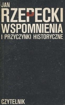 Okładka książki Wspomnienia i przyczynki historyczne