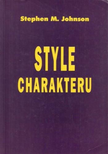Okładka książki Style charakteru