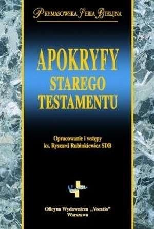Okładka książki Apokryfy Starego Testamentu