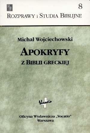Okładka książki Apokryfy z Biblii greckiej