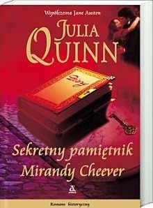 Okładka książki Sekretny pamiętnik Mirandy Cheever