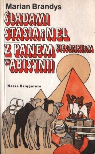 Okładka książki Śladami Stasia i Nel, Z Panem Biegankiem w Abisynii