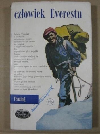 Okładka książki Człowiek Everestu
