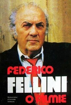 Okładka książki Federico Fellini o filmie
