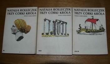 Okładka książki Trzy córki króla t. 1-3