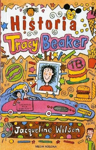 Okładka książki Historia Tracy Beaker