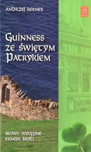 Okładka książki Guinness ze świętym Patrykiem