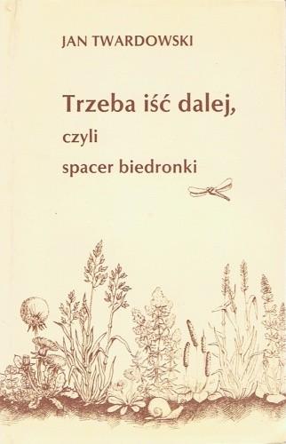 Okładka książki Trzeba iść dalej, czyli spacer biedronki