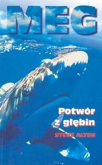Okładka książki Meg. Potwór z głębin
