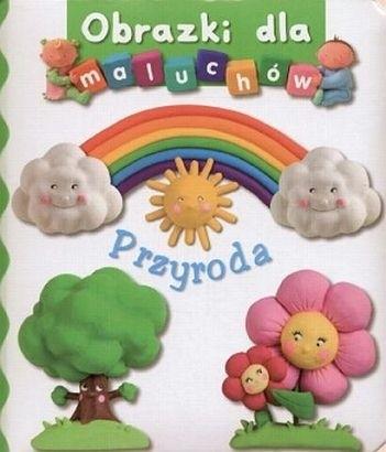 Okładka książki Obrazki dla maluchów. Przyroda