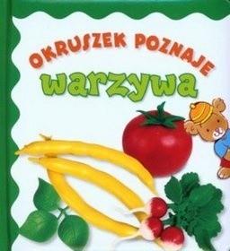Okładka książki Okruszek poznaje warzywa