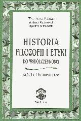 Okładka książki Historia filozofii i etyki do współczesności