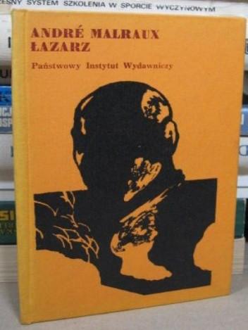 Okładka książki Łazarz