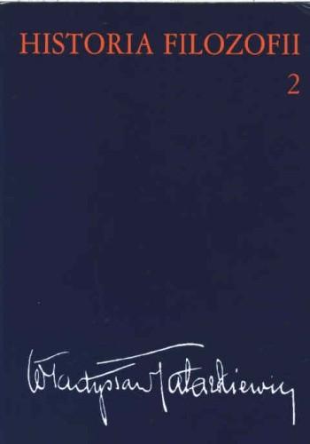Okładka książki Historia filozofii t.2