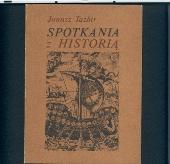 Okładka książki Spotkania z historią