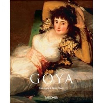 Okładka książki Francisco Goya 1746-1828