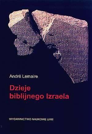 Okładka książki Dzieje biblijnego Izraela