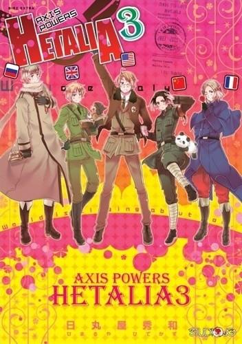 Okładka książki Axis Powers Hetalia 3