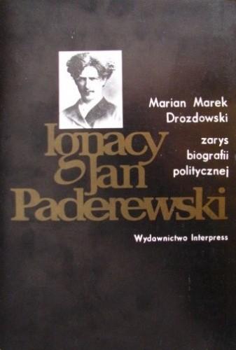 Okładka książki Ignacy Jan Paderewski