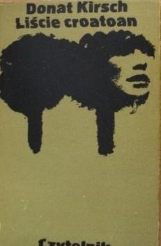 Okładka książki Liście croatoan