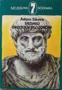 Okładka książki Siedmiu greckich filozofów