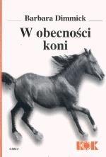 Okładka książki W obecności koni