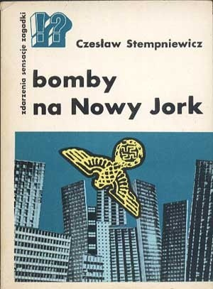 Okładka książki Bomby na Nowy Jork