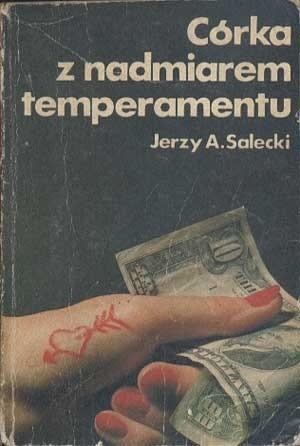 Okładka książki Córka z nadmiarem temperamentu