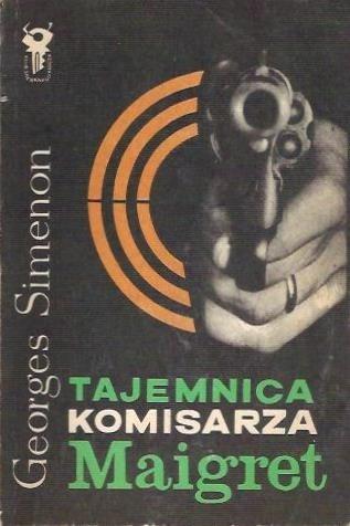 Okładka książki Tajemnica komisarza Maigret
