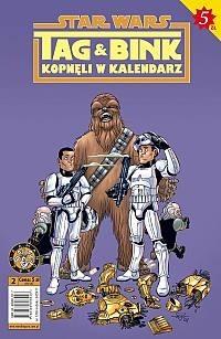 Okładka książki Star Wars. Tag i Bink kopnęli w kalendarz. Część 2