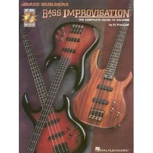 Okładka książki Bass improvisation