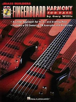 Okładka książki Fingerboard harmony for bass