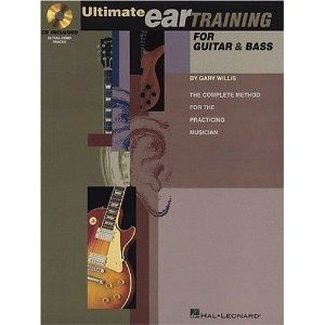 Okładka książki Ultimate ear training for guitar and bass