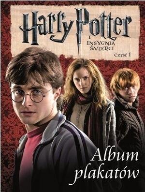 Okładka książki Harry Potter i Insygnia Śmierci. Album Plakatów