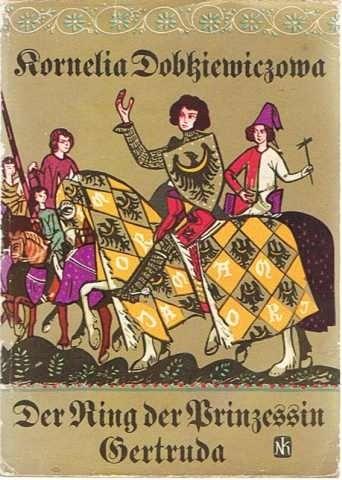 Okładka książki Pierścień księżniczki Gertrudy