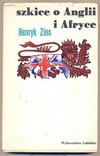 Okładka książki Szkice o Anglii i Afryce