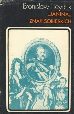 Okładka książki Janina znak Sobieskich