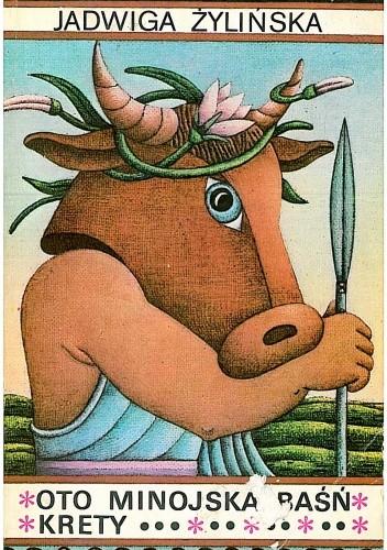 Okładka książki Oto minojska baśń Krety