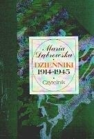 Okładka książki Dzienniki 1914 - 1945 [T.1, 1914-1925]