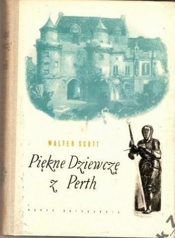 Okładka książki Piękne dziewczę z Perth