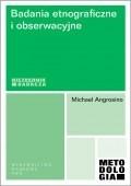 Okładka książki Badania etnograficzne i obserwacyjne