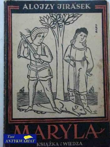 Okładka książki Maryla