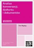 Okładka książki Analiza konwersacji, dyskursu i dokumentów