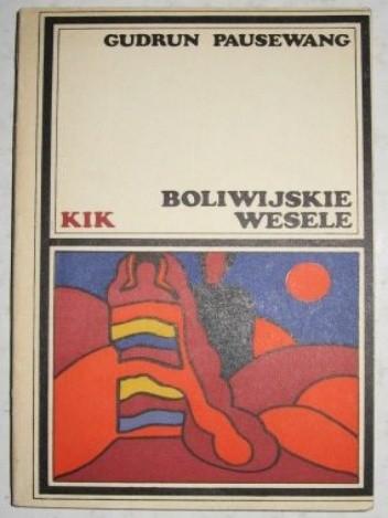 Okładka książki Boliwijskie wesele