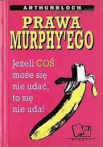Okładka książki Prawa Murphy'ego